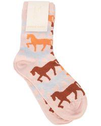 Stine Goya - Iggy Horses Socks - Lyst