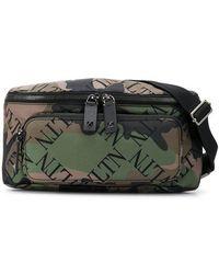 Valentino - Garavani Vltn Camouflage Belt Bag - Lyst