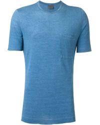 Laneus - Patch Pocket T-shirt - Lyst