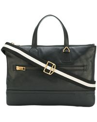 Bally - Zipped Briefcase - Lyst