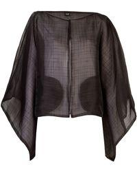 Fernanda Yamamoto - Textured Kimono Jacket - Lyst