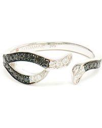 Gaydamak - 9k Gold And Diamond Ring - Lyst