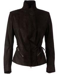 Ann Demeulemeester Blanche - Leather Blazer Jacket - Lyst