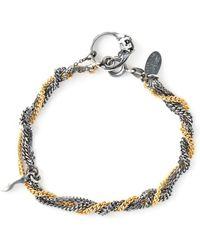 Puro Iosselliani - Sapphire Ring Tangled Bracelet - Lyst