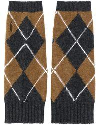 Pringle of Scotland Перчатки С Принтом Аргайл - Многоцветный