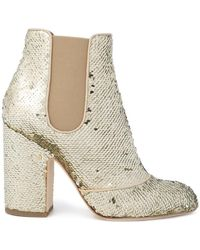 Laurence Dacade - Mila Sequin Ankle Boots - Lyst
