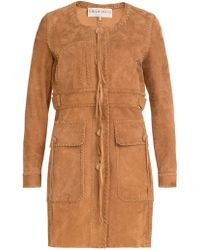 Emilio Pucci - Single Breasted Braided Detail Coat - Lyst