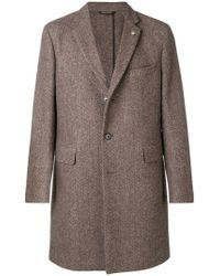 Closed - Single-breasted Fitted Coat - Lyst