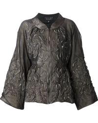 Iris Van Herpen - - Embossed Tooth Jacket - Women - Cotton/spandex/elastane/viscose - 38 - Lyst