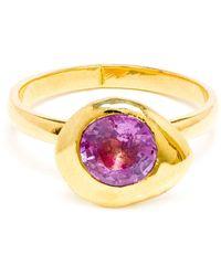 Natasha Collis - 'nugget' Sapphire Ring - Lyst
