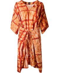 Fernanda Yamamoto - Abstract Print Flared Dress - Lyst