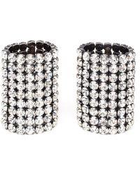 Vetements - Crystal Bead Bracelets - Lyst