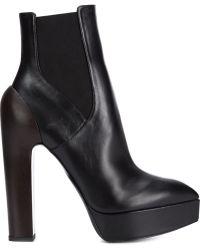 Vera Wang - High Heel Platform Boots - Lyst