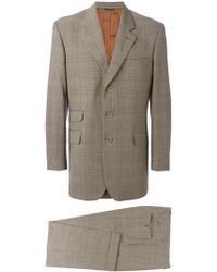 Moschino - Checked Tweed Suit - Lyst