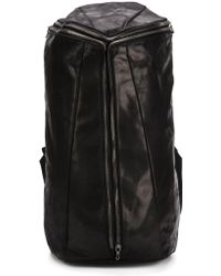 Julius - Square-shaped Zip Backpack - Lyst