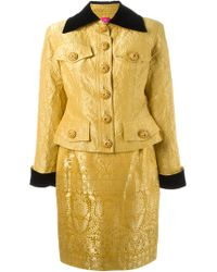 Christian Lacroix - Brocade Suit - Lyst