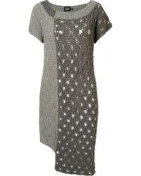 Fernanda Yamamoto - Asymmetric Knit Dress - Lyst
