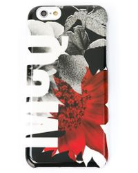 McQ - Floral Print Iphone 6 Case - Lyst