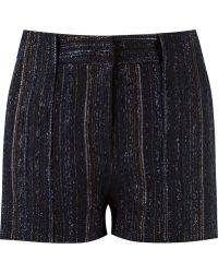 Giuliana Romanno - Stripped Knitted Shorts - Lyst