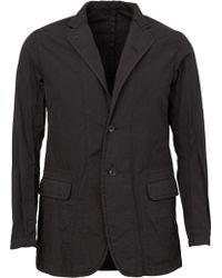 The Viridi-anne - - Notched Lapel Blazer - Men - Cotton/polyester - 4 - Lyst