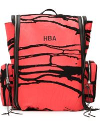 Hood By Air - Cracked Paint Backpack - Lyst