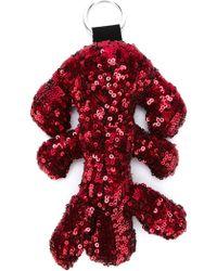 MM6 by Maison Martin Margiela - Sequin Embellished Keyring - Lyst