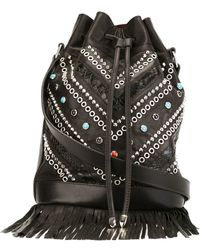 HTC Hollywood Trading Company - Studded Bucket Bag - Lyst