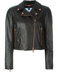Blumarine - Classic Biker Jacket - Lyst