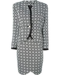 Versace - Mosaic Print Skirt Suit - Lyst