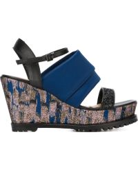 Markus Lupfer - Rubber Sole Wedge Sandals - Lyst