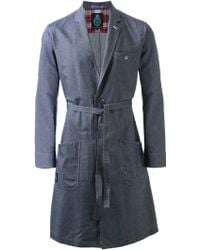 Guild Prime - Belted Single Breasted Coat - Lyst