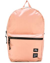 Stussy - Contrast Zip Up Backpack - Lyst