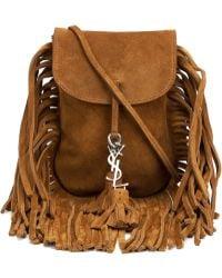 Saint Laurent - Toy Anita Suede Cross-Body Bag - Lyst