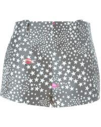 Giamba - Star Jacquard Shorts - Lyst