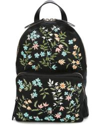 RED Valentino | Floral Beaded Backpack | Lyst