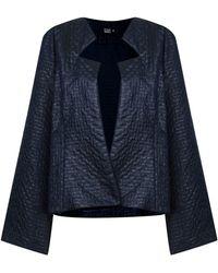 Fernanda Yamamoto - Texturized Wide Blazer - Lyst
