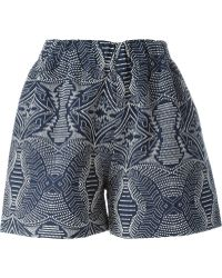 Reality Studio - 'gena' Shorts - Lyst