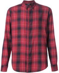 Neuw - Checked Long Sleeve Shirt - Lyst