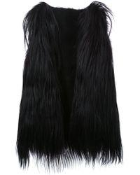 Scanlan Theodore Long Goat Hair Vest