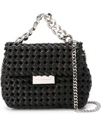 Stella McCartney - Small 'Becks' Weaved Shoulder Bag - Lyst