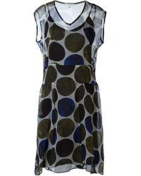 Paul by Paul Smith - Dot Print Dress - Lyst