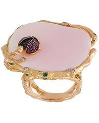 Christina Debs - Ladybird Diamond Ring - Lyst