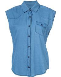 Joe's Jeans - Sleeveless Shirt - Lyst
