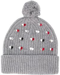 Markus Lupfer - 'hearts' Embellished Beanie - Lyst