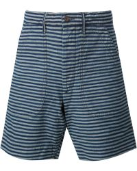 RRL - Striped Bermuda Shorts - Lyst
