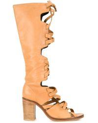 Kitx - Laced Open Toe Boots - Lyst