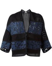 Veronique Leroy - Panelled Lace Jacket - Lyst