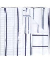 Toogood - Striped Pattern Scarf - Lyst