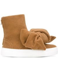 Joshua Sanders - Bow Detail Boots - Lyst