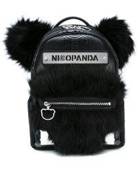 Nicopanda - Logo Patch Backpack - Lyst